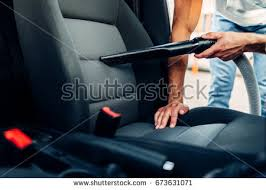 Car Cleaner Interior Car Care Concept Detailing Cleaning Interior Stock Photo 650651461