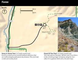 Map Of Oregon Trail by John Day Fossil Beds Maps Npmaps Com Just Free Maps Period