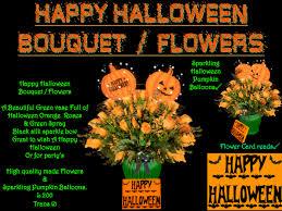 second life marketplace happy halloween flowers u003e bouquet