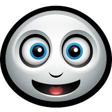 friendly halloween casper spirit happy smiley ghost icon