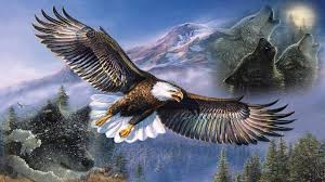 the eagle and watchful wolf poem by winged warrior