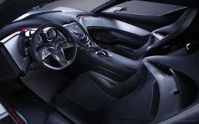 2010 corvette interior chevrolet corvette stingray concept car interiors