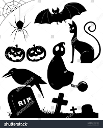 images of silhouette free halloween vector sc