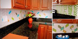 kitchen backsplash paint ideas top 20 diy kitchen backsplash ideas