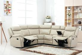 reclining leather sectional sofas large size of couch sectional