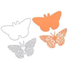 amazon com resting butterfly set cutting dies stencil frame metal