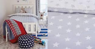 Duvet Cover Stars Grey Star Duvet Cover Sweetgalas