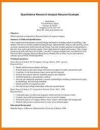 Market Research Analyst Resume Sample by Research U003ca Href U003d
