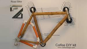 A Frame Kits Diy Bamboo Bike Kit Calfee Design