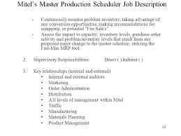 project scheduler resume production scheduler job description production scheduler job