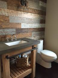 San Diego Rustic Bathroom Designs With Wood Vanity Electricians Bathroom Design San Diego