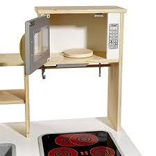 howa küche spielküche kinderküche chefkoch aus holz mit led kochfeld 4820