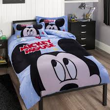Mickey Mouse Bed Sets Disney Brand Big Mickey Mouse Bedding Sets 100 Cotton