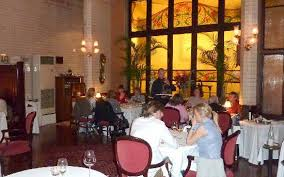 a small area of the main restaurant picture of casa calvet