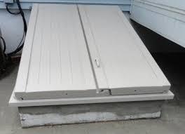 Steel Basement Doors by Bilco Ultra Series 55 In X 72 In Driftwood Polyethylene Cellar