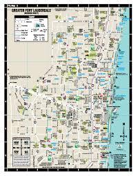 map of ft lauderdale print area maps visimap visimap