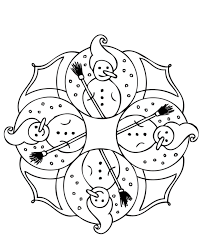 snowman winter coloring pages winter coloring pages of
