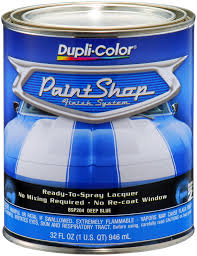 dupli color paint shop deep blue metallic 32 oz dupbsp204