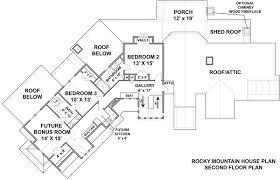 5 bedroom house plans with bonus room rocky mountain lodge house plan luxury mountain style floor plan