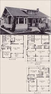 Cottages And Bungalows House Plans by 1922 Classic California Style Bungalow House Plans E W