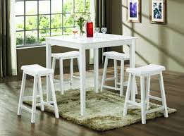 Incredible White Bar Table And Chairs Pub Table Dining Archives - Dining table sets with matching bar stools