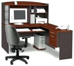 Corner Hutch Computer Desk Enclosed Computer Desk Size Of Corner Desk With Hutch Small
