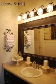Bathroom Mirror Frames by How To Frame Out That Builder Basic Bathroom Mirror For 20 Or