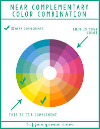 complementary color how to build a near complimentary color combination tiffany ima