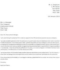 Sample Resume Hr Generalist by Facebook Cover Letter