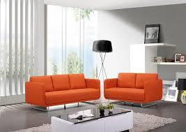 canap orange emejing salon marron orange photos awesome interior home