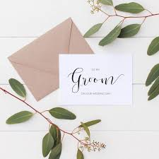To My Groom On Our Wedding Day Card Product Categories Wedding Day Cards