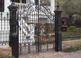 fence ornamental iron fence brilliant ornamental iron fence