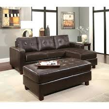 Abbyson Sectional Sofa Abbyson Sectional Sofas Leather Reversible Sectional And Ottoman