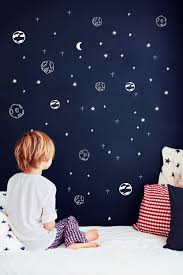 Planet wall decals Solar system Astronomy Outer space decor