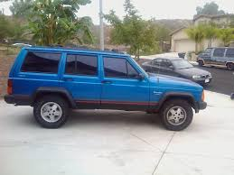 navy blue jeep 93 blue socal first xj going to be long project jeep cherokee forum