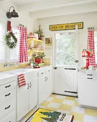 Kitchen Tier Curtains by Interior Christmas Kitchen Curtains Holiday Window Curtains