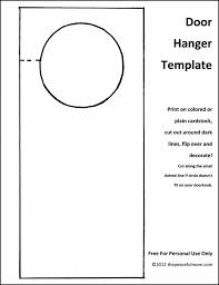hotel door hanger template diy door hanger with free template homework dinners and