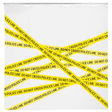 Zoological Shower Curtain by Police Line Shower Curtain Csi Gifts Crime Scene Investigation