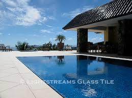 lightstreams all glass tile pool turquoise