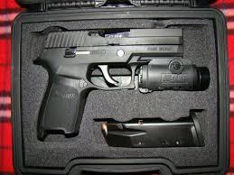 sig sauer laser light combo sig p320 9mm with springer precision base plates trigger job done