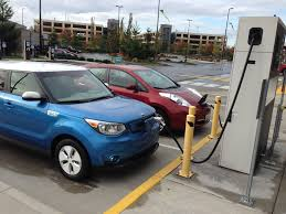 nissan leaf quick charge time some electric car public charging stations get used others don u0027t