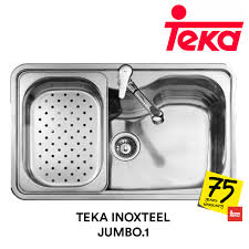 Teka Kitchen Sink Teka Stainless Steel Sink Inoxteel Jumbo 1 Topware Solutions