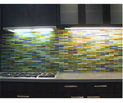 recycled glass backsplashes for kitchens coolest lime green glass tile backsplash my home design journey