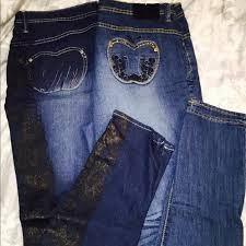 apple bottoms apple bottoms denim set of 2 apple bottoms plus size