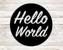 hello world svg etsy