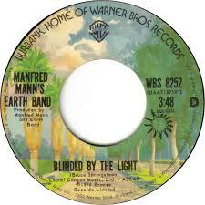 Lyrics To Blinded By The Light Manfred Mann Words Don U0027t Come Easy U201d F R David 1982 Popboprocktiludrop