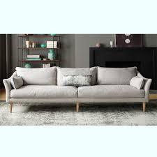 canapé lavable canapé 3 places gris lavable salon meubles maison le meilleur site