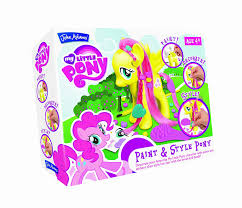 my little pony rainbow dash glitter pony set amazon co uk toys