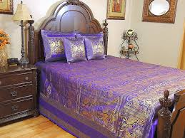 Silk Peacock Home Decor Peacock Bedding Set Pea Decorations For Bedroom Feather Comforter