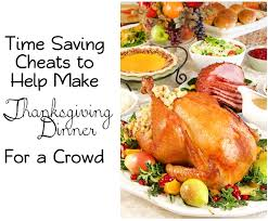or store bought time saving tips on thanksgiving